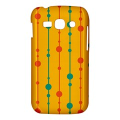 Yellow, green and red pattern Samsung Galaxy Ace 3 S7272 Hardshell Case