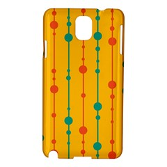Yellow, green and red pattern Samsung Galaxy Note 3 N9005 Hardshell Case