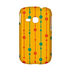 Yellow, green and red pattern Samsung Galaxy S6310 Hardshell Case