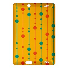 Yellow, green and red pattern Amazon Kindle Fire HD (2013) Hardshell Case