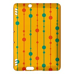 Yellow, green and red pattern Kindle Fire HDX Hardshell Case