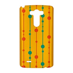 Yellow, green and red pattern LG G3 Hardshell Case