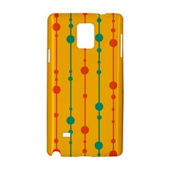 Yellow, green and red pattern Samsung Galaxy Note 4 Hardshell Case