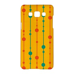 Yellow, green and red pattern Samsung Galaxy A5 Hardshell Case