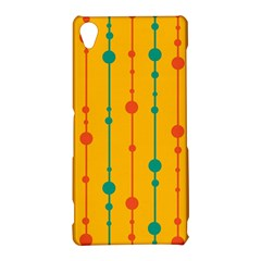 Yellow, green and red pattern Sony Xperia Z3