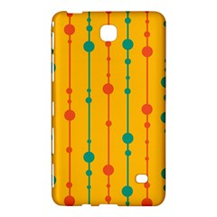 Yellow, green and red pattern Samsung Galaxy Tab 4 (8 ) Hardshell Case