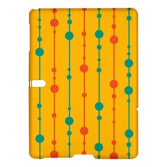 Yellow, green and red pattern Samsung Galaxy Tab S (10.5 ) Hardshell Case
