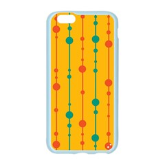 Yellow, green and red pattern Apple Seamless iPhone 6/6S Case (Color)