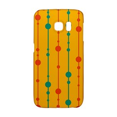 Yellow, green and red pattern Galaxy S6 Edge