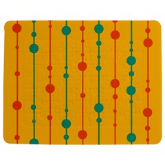 Yellow, Green And Red Pattern Jigsaw Puzzle Photo Stand (rectangular)