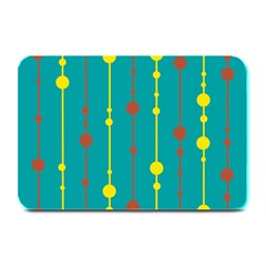 Green, yellow and red pattern Plate Mats