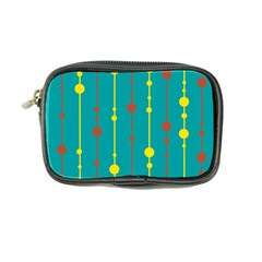 Green, yellow and red pattern Coin Purse