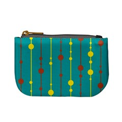 Green, yellow and red pattern Mini Coin Purses
