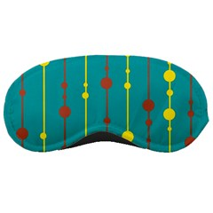 Green, yellow and red pattern Sleeping Masks