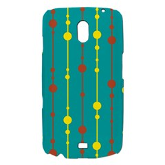 Green, yellow and red pattern Samsung Galaxy Nexus i9250 Hardshell Case