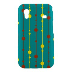 Green, yellow and red pattern Samsung Galaxy Ace S5830 Hardshell Case