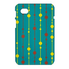 Green, yellow and red pattern Samsung Galaxy Tab 7  P1000 Hardshell Case
