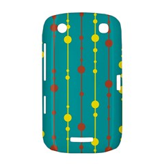 Green, yellow and red pattern BlackBerry Curve 9380