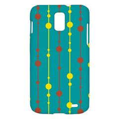 Green, yellow and red pattern Samsung Galaxy S II Skyrocket Hardshell Case