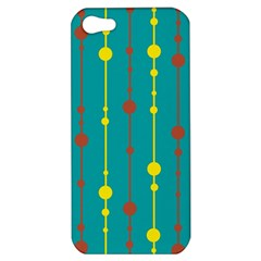 Green, yellow and red pattern Apple iPhone 5 Hardshell Case