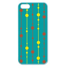 Green, yellow and red pattern Apple Seamless iPhone 5 Case (Color)