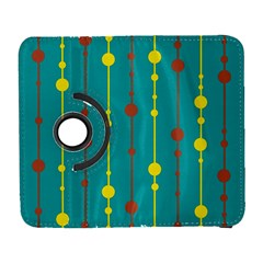 Green, yellow and red pattern Samsung Galaxy S  III Flip 360 Case