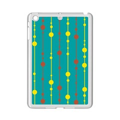 Green, yellow and red pattern iPad Mini 2 Enamel Coated Cases
