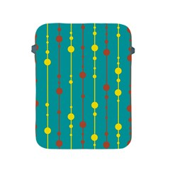 Green, yellow and red pattern Apple iPad 2/3/4 Protective Soft Cases