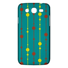 Green, Yellow And Red Pattern Samsung Galaxy Mega 5 8 I9152 Hardshell Case
