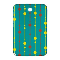 Green, yellow and red pattern Samsung Galaxy Note 8.0 N5100 Hardshell Case