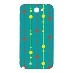 Green, yellow and red pattern Samsung Note 2 N7100 Hardshell Back Case