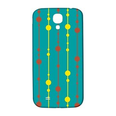 Green, yellow and red pattern Samsung Galaxy S4 I9500/I9505  Hardshell Back Case