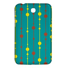 Green, yellow and red pattern Samsung Galaxy Tab 3 (7 ) P3200 Hardshell Case