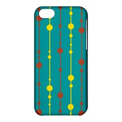 Green, yellow and red pattern Apple iPhone 5C Hardshell Case