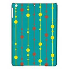 Green, yellow and red pattern iPad Air Hardshell Cases