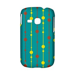 Green, yellow and red pattern Samsung Galaxy S6310 Hardshell Case