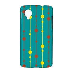 Green, yellow and red pattern LG Nexus 5