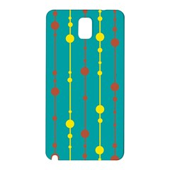 Green, yellow and red pattern Samsung Galaxy Note 3 N9005 Hardshell Back Case