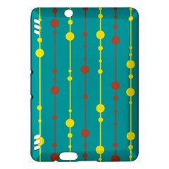 Green, yellow and red pattern Kindle Fire HDX Hardshell Case