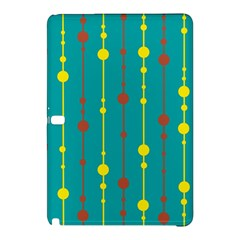 Green, yellow and red pattern Samsung Galaxy Tab Pro 10.1 Hardshell Case