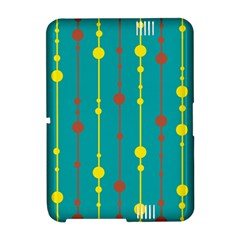 Green, yellow and red pattern Amazon Kindle Fire (2012) Hardshell Case