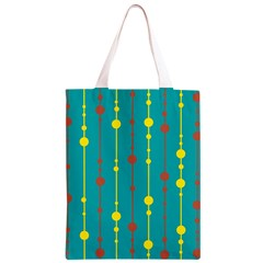 Green, yellow and red pattern Classic Light Tote Bag