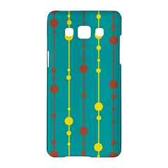 Green, yellow and red pattern Samsung Galaxy A5 Hardshell Case
