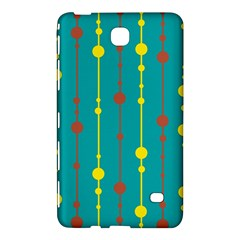 Green, yellow and red pattern Samsung Galaxy Tab 4 (7 ) Hardshell Case
