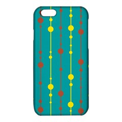 Green, yellow and red pattern iPhone 6/6S TPU Case