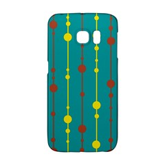 Green, yellow and red pattern Galaxy S6 Edge