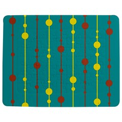 Green, Yellow And Red Pattern Jigsaw Puzzle Photo Stand (rectangular)