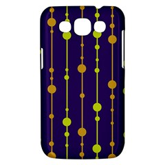 Deep blue, orange and yellow pattern Samsung Galaxy Win I8550 Hardshell Case