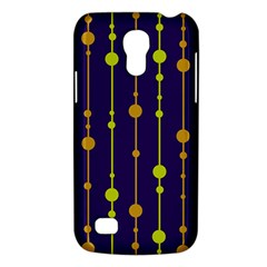 Deep blue, orange and yellow pattern Galaxy S4 Mini
