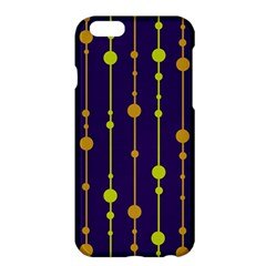 Deep blue, orange and yellow pattern Apple iPhone 6 Plus/6S Plus Hardshell Case